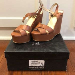 8afdd1a87f Primadonna collection tan wedge sandals